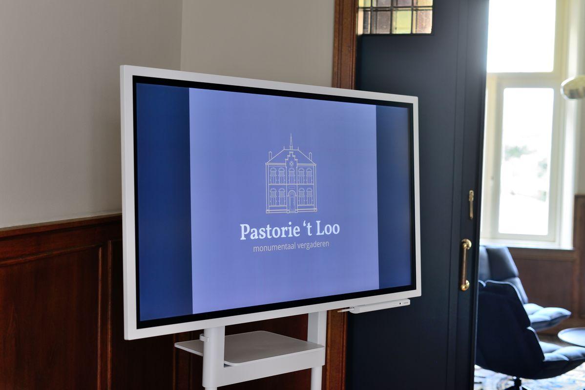 Digibord met touchscreen - vergaderruimte Pastorie 't Loo